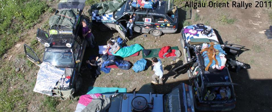 Besuchen Sie unsere Website über die Allgäu Orient Rallye 2011.